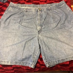Blue Denim Wrangler Timber Creek Shorts